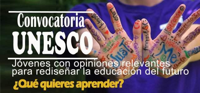 La UNESCO convoca a jóvenes a dar sus portes para el mejoramiento de la educación