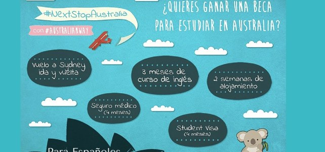 ¿Quieres ganar una Beca para estudiar inglés en Australia? – Convocatoria para Españoles del mundo entero