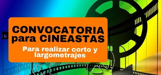 Convocatoria a concurso de largometrajes y cortometrajes