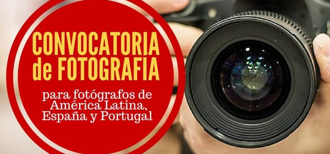 Convocatoria para fotógrafos de América Latina, España y Portugal