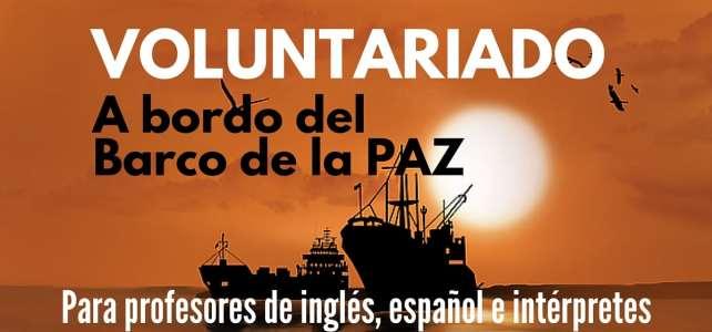 Voluntariado para intérpretes de inglés y español a bordo del Peace Boat