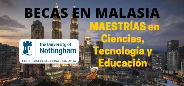 Becas en Malasia para cursar maestría en áreas de ciencia, tecnología y educación