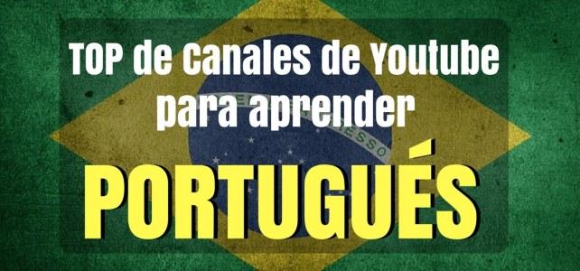 Canales top de Youtube para aprender portugués de forma gratuita !