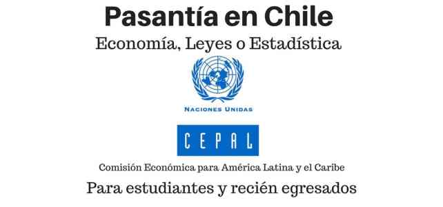 Pasantía para economistas, estadísticos o abogados en ONU Chile