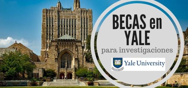 Becas de verano en la Universidad de Yale – Estados Unidos
