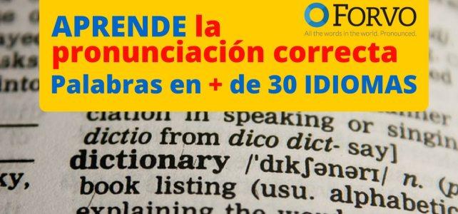 Aprende el significado correcto de palabras en más de 30 idiomas solo escuchando audios