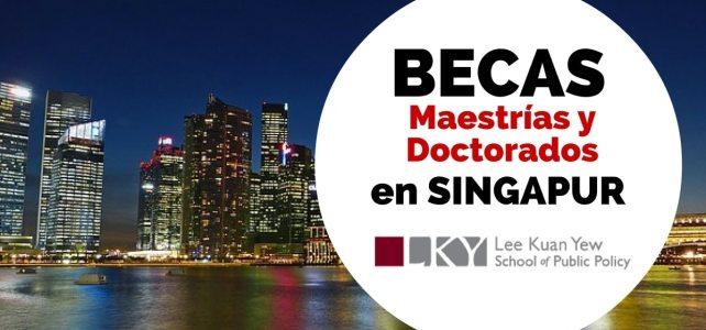 Becas para cursar maestrías y doctorados en Singapur