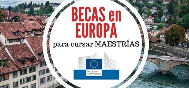 Becas Erasmus Mundus 2017 para cursar maestrías en Europa