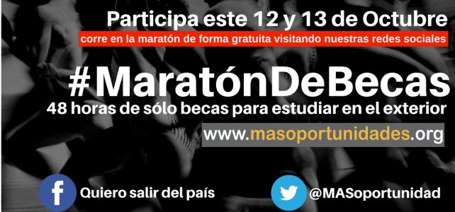 Primera #MaratónDeBecas para estudios en el exterior – MasOportunidades.org