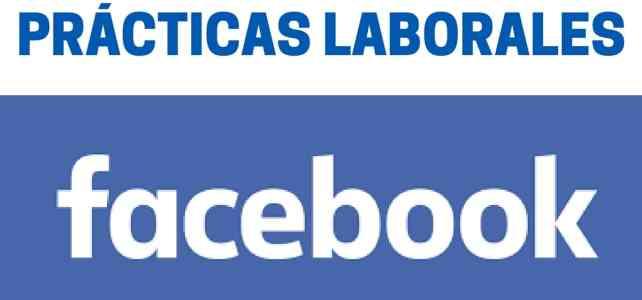 Prácticas profesionales REMUNERADAS en Facebook