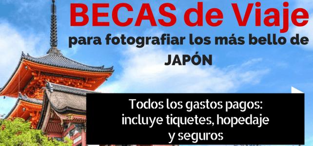 Beca para viajar a Japón y fotografiar toda su belleza – cubre todos los gastos de viaje