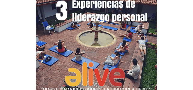 Talleres para el desarrollo personal y profesional – ALIVE