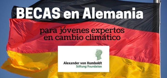 Becas en Alemania para jóvenes que trabajen en cambio climático – incluye gastos de acompañantes si viaja con familia