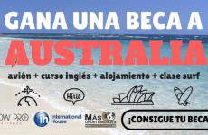 Beca COMPLETA para estudiar Inglés en Australia + Clases de Surf : Convocatoria abierta !