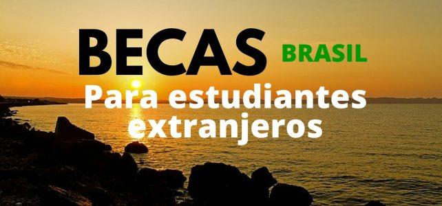 Becas para extranjeros en Brasil