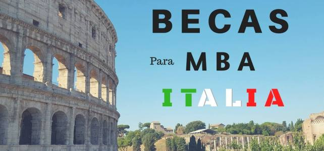 Becas para MBA en Italia.