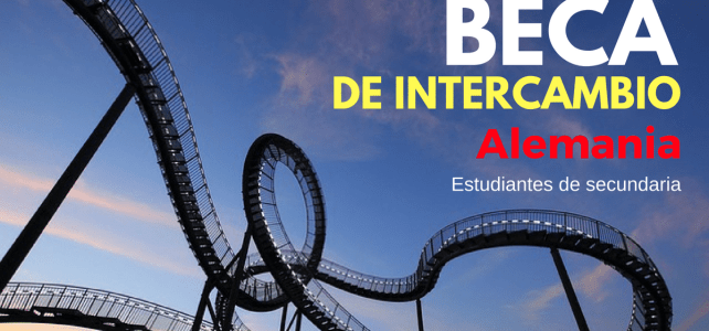 Becas de intercambio bachillerato/secundaria en Alemania
