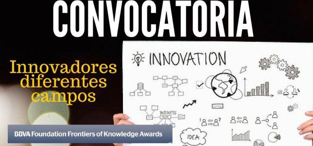 Convocatoria de BBVA para innovadores. Todas las nacionalidades