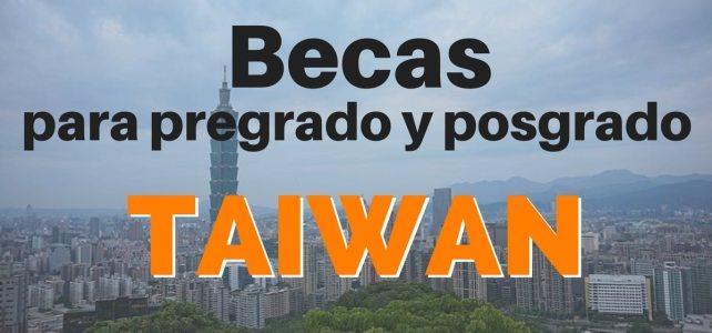 Becas para pregrado y posgrado en Taiwan