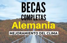 Becas completas  – protección y conservación del medio ambiente