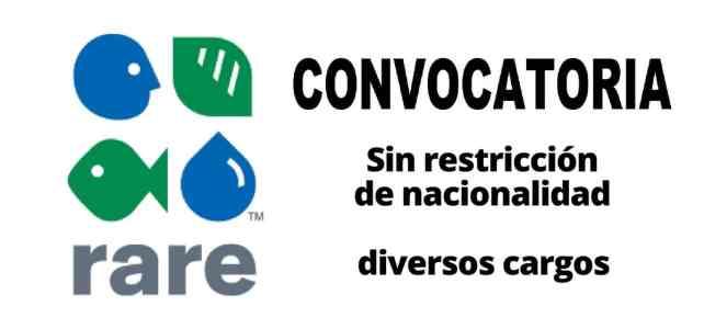 Convocatorias internacionale con la organización Rare
