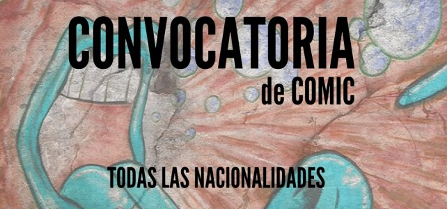 Convocatoria de comics – Todas las nacionalidades