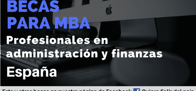 Becas para MBA en España