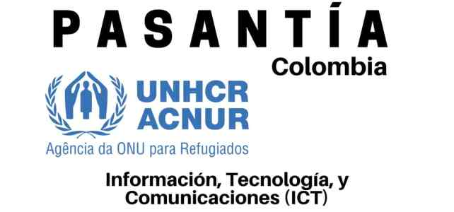 Pasantía con la ACNUR en Colombia