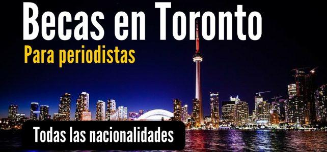 Becas en Canadá para periodistas