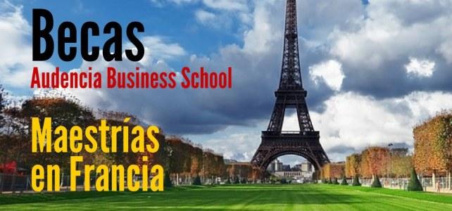 Becas en Francia para cursar maestrías