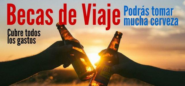 Becas para viajar por el mundo catando cerveza