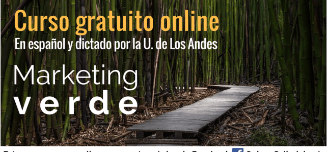 Marketing verde: Curso Online y gratuito ideal para ambientalistas