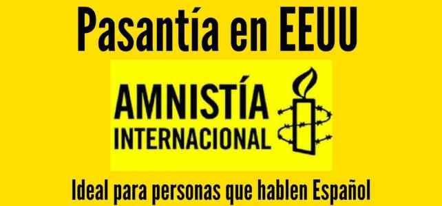 Pasantías con Amnistía Internacional