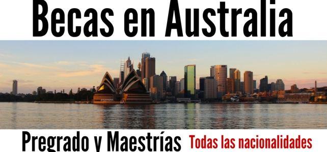 Temporada de Becas en Australia para cursar pregrado y maestría en diversos temas