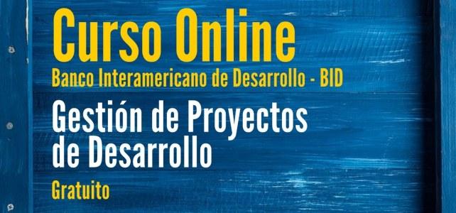 Curso online y gratuito con el BID sobre gestión de proyectos