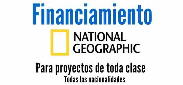 Convocatoria de National Geographic para financiamiento a proyectos