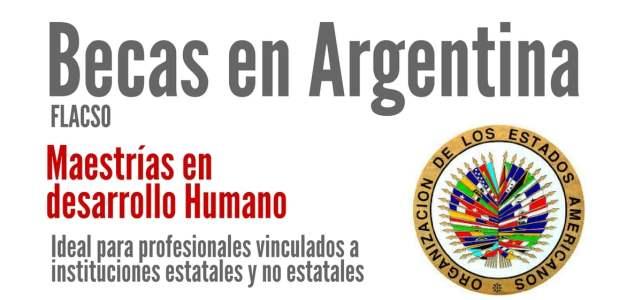 Becas OEA en Argentina – Flacso para maestrías en desarrollo humano