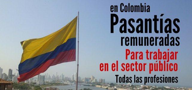 Convocatoria en Colombia para prácticas laborales remuneradas