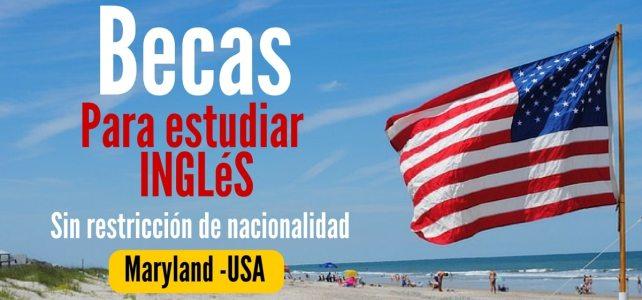 Beca para estudiar inglés: Programa intensivo en Estados Unidos