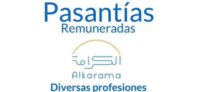 Pasantía remunerada con la organización Alkarama
