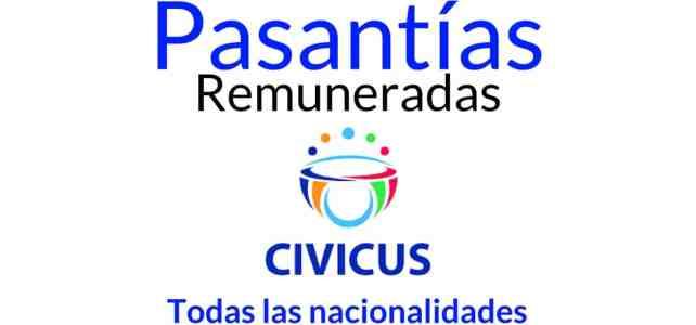 Pasantías remuneradas con CIVICUS Alianza Mundial