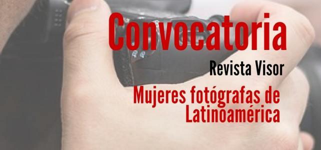 Convocatoria de fotografía para mujeres latinoamericanas