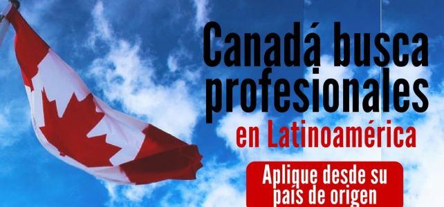 Canadá busca profesionales de Latinoamérica