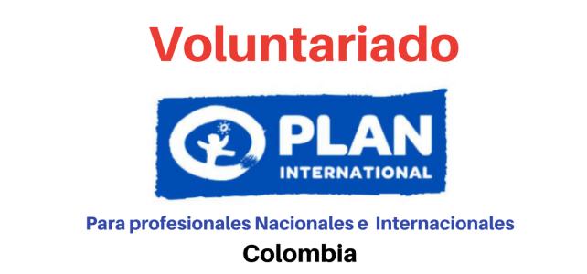 Voluntariado en Cooperación Fundación Plan