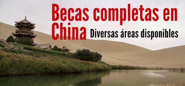 Becas completas del Gobierno de China para estudiantes extranjeros