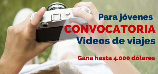 Convocatoria de vídeos de viajes para estudiantes o los que quieran viajar