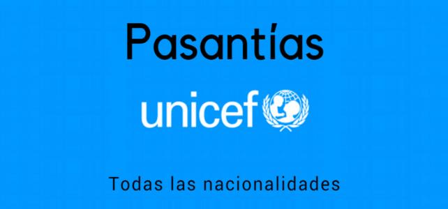 Programa de pasantías en UNICEF para cualquier nacionalidad