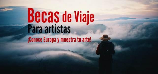 Becas para que artistas viajen por Europa