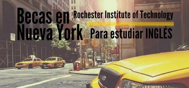 Becas para estudiar inglés en Nueva York con RIT