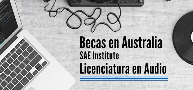 Becas en Australia para licenciatura en audio